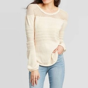 Knox Rose sweater women size small